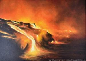 Marina Ravaioli - Dracarys, vulcano in eruzione