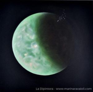Marina Ravaioli - Titano, mezzaluna in verde